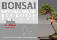 Plakat: Wystawa Bonsai Ksiaz 2015